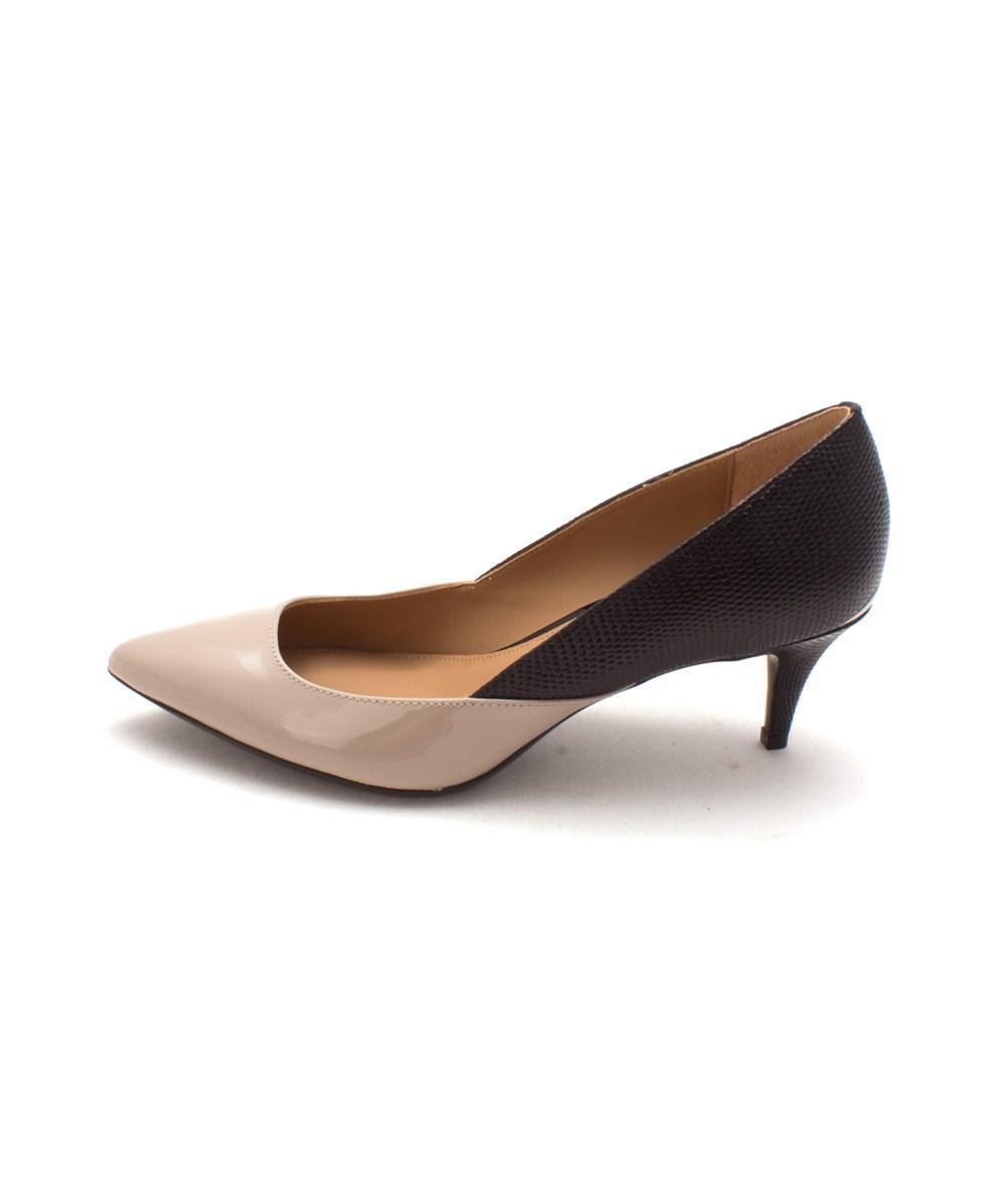 da62f84f241c Lyst - Calvin Klein Womens Patna Pointed Toe Classic Pumps in Black