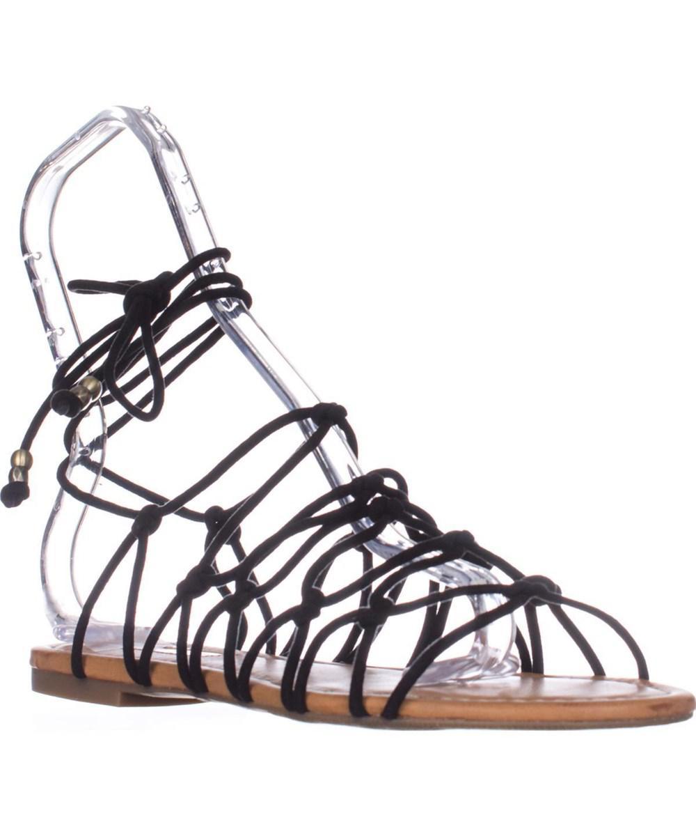 74a3e5876b4237 Lyst - Inc International Concepts I35 Gallena Flat Lace-up Sandals ...