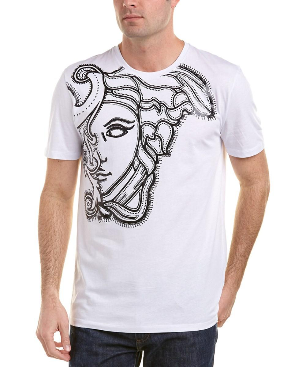 44338cf625b Lyst - Versace Versace Collection Medusa T-shirt in White for Men