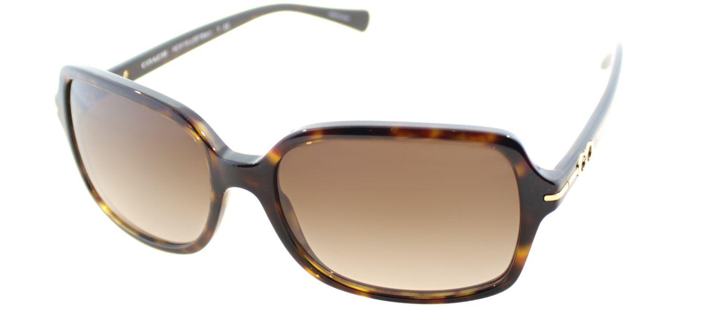 a671d9d48d9d7 COACH. Women s Blair Hc 8116 500113 Tortoise Designer Sunglasses