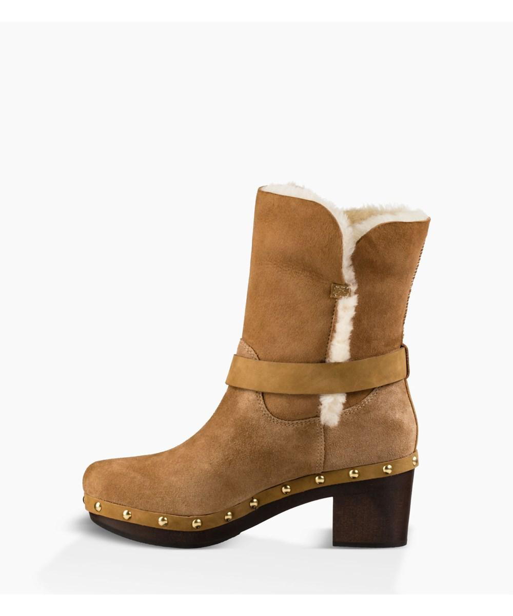 bb650b7957a Lyst - Ugg Womens Brea Faux Fur Closed Toe Mid-calf Fashion Boots in ...