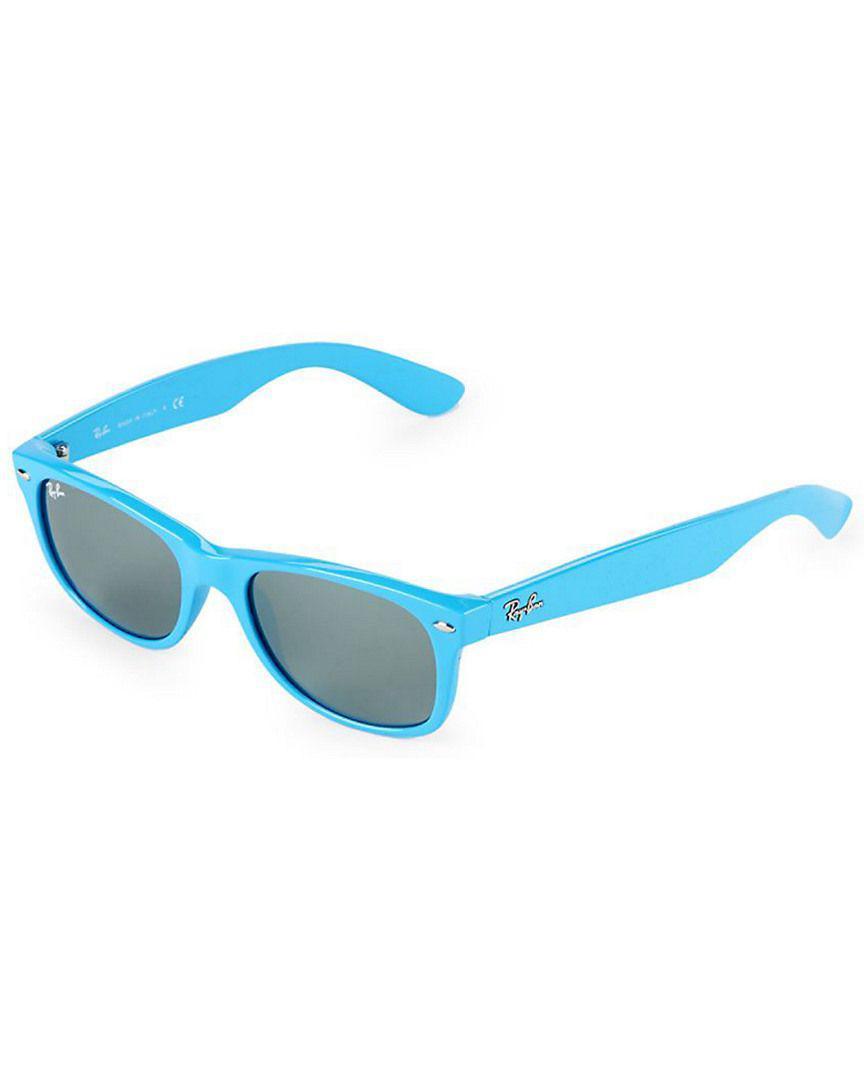 72327e823b Lyst - Ray-Ban Classic Square Sunglasses in Blue - Save ...