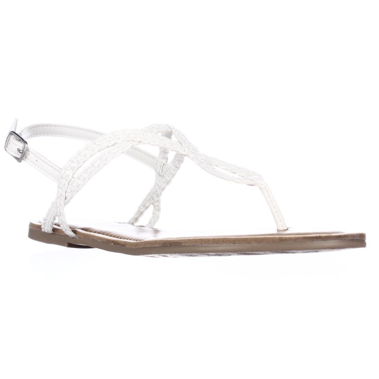 ff49de0268a7 American Rag. Women s Ar35 Keira Braided Thong Flat Sandals ...