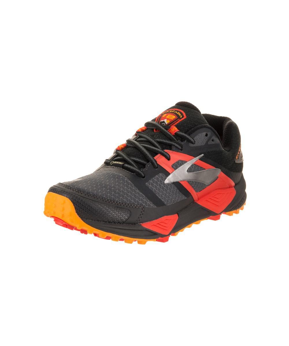 92301ab6cee Lyst - Brooks Men s Cascadia 12 Gtx Running Shoe in Black for Men