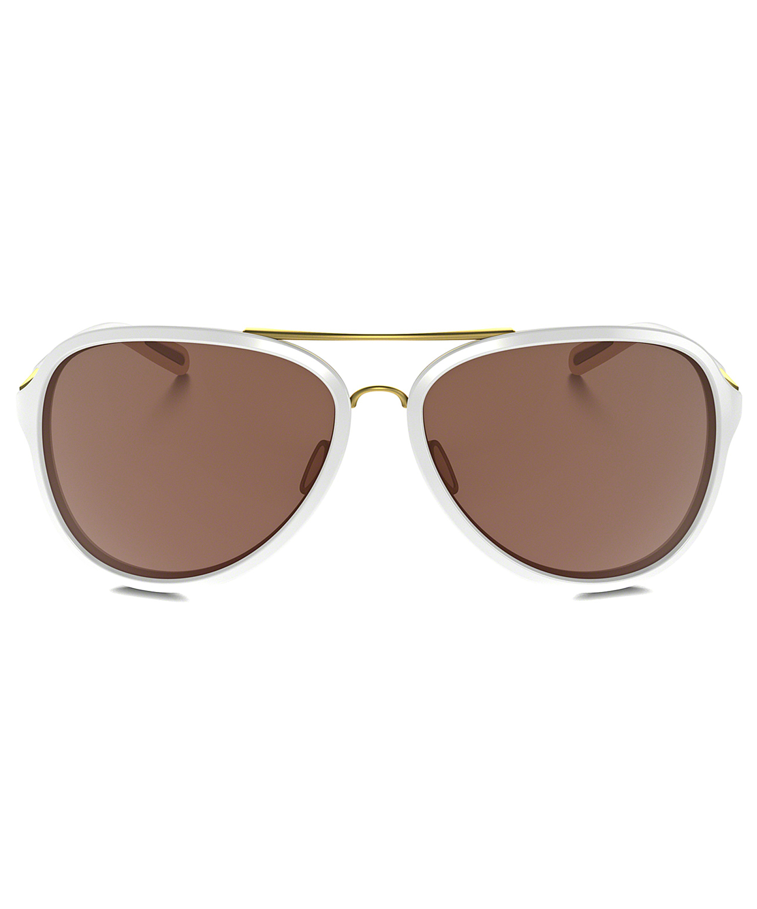ae5a396b87 Lyst - Oakley Kickback Oo 4102 4102-06 Satin Polished Gold White ...