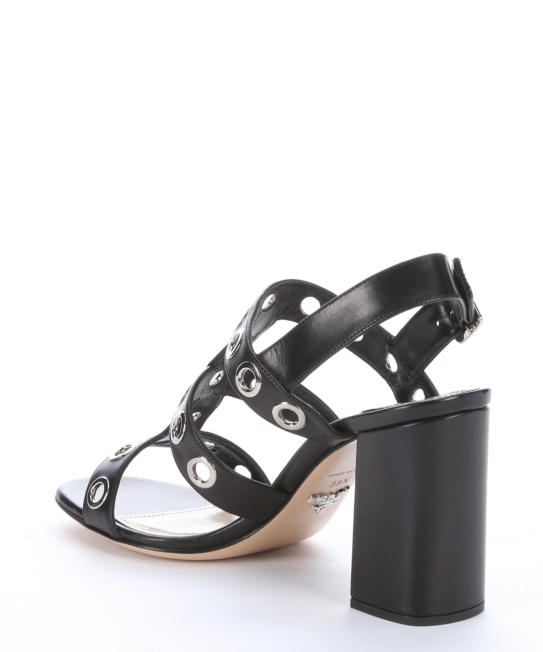 cheap sale explore Prada Grommet Slingback Sandals free shipping good selling 79rd4