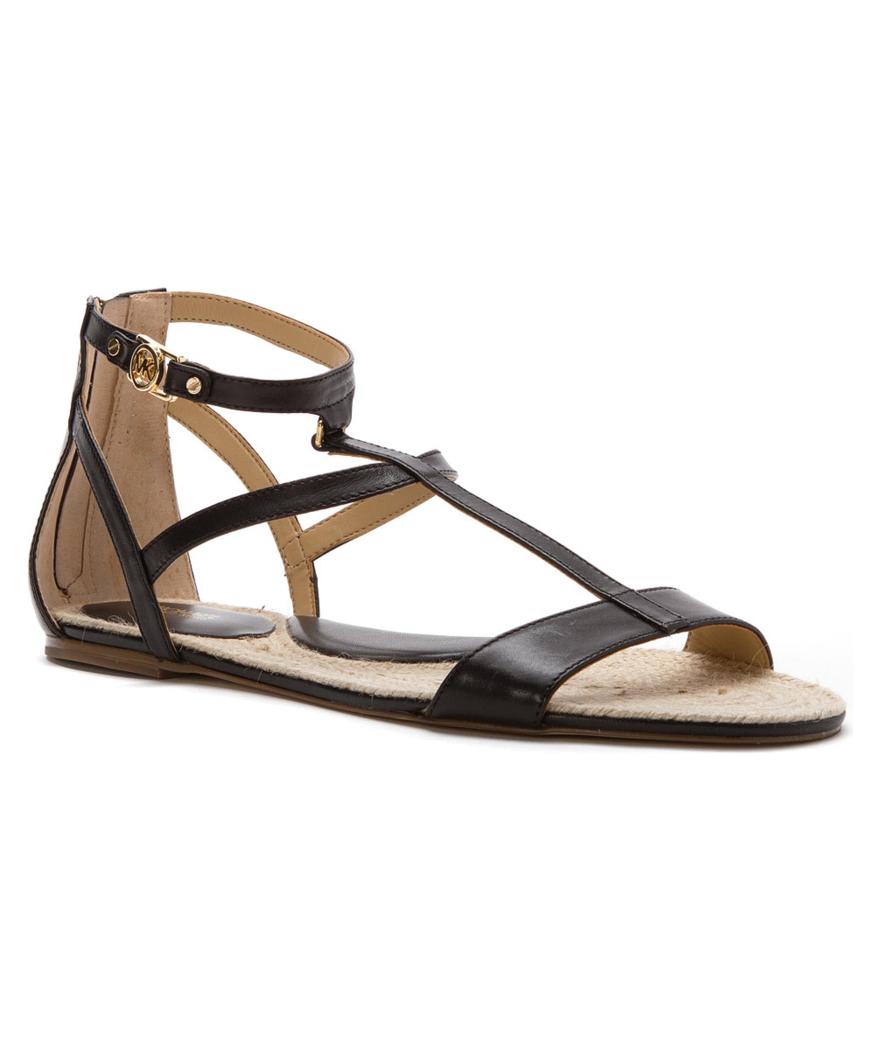 Simple MICHAEL Michael Kors Womens Becca Leather Platform Sandal