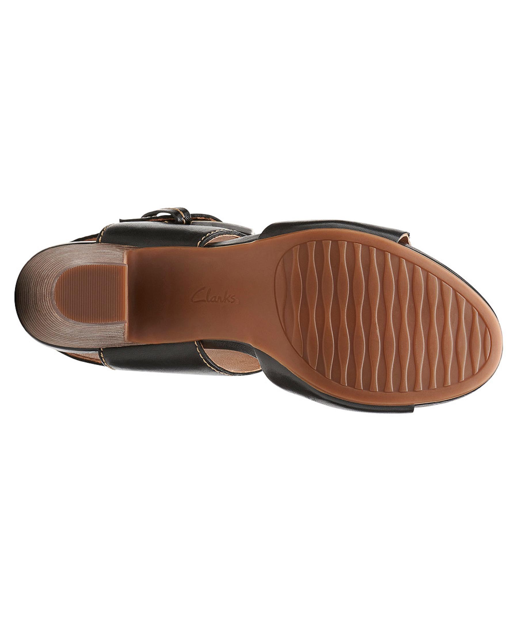 785ea6e7a57 Lyst - Clarks Women s Okena Mod Sandals in Black