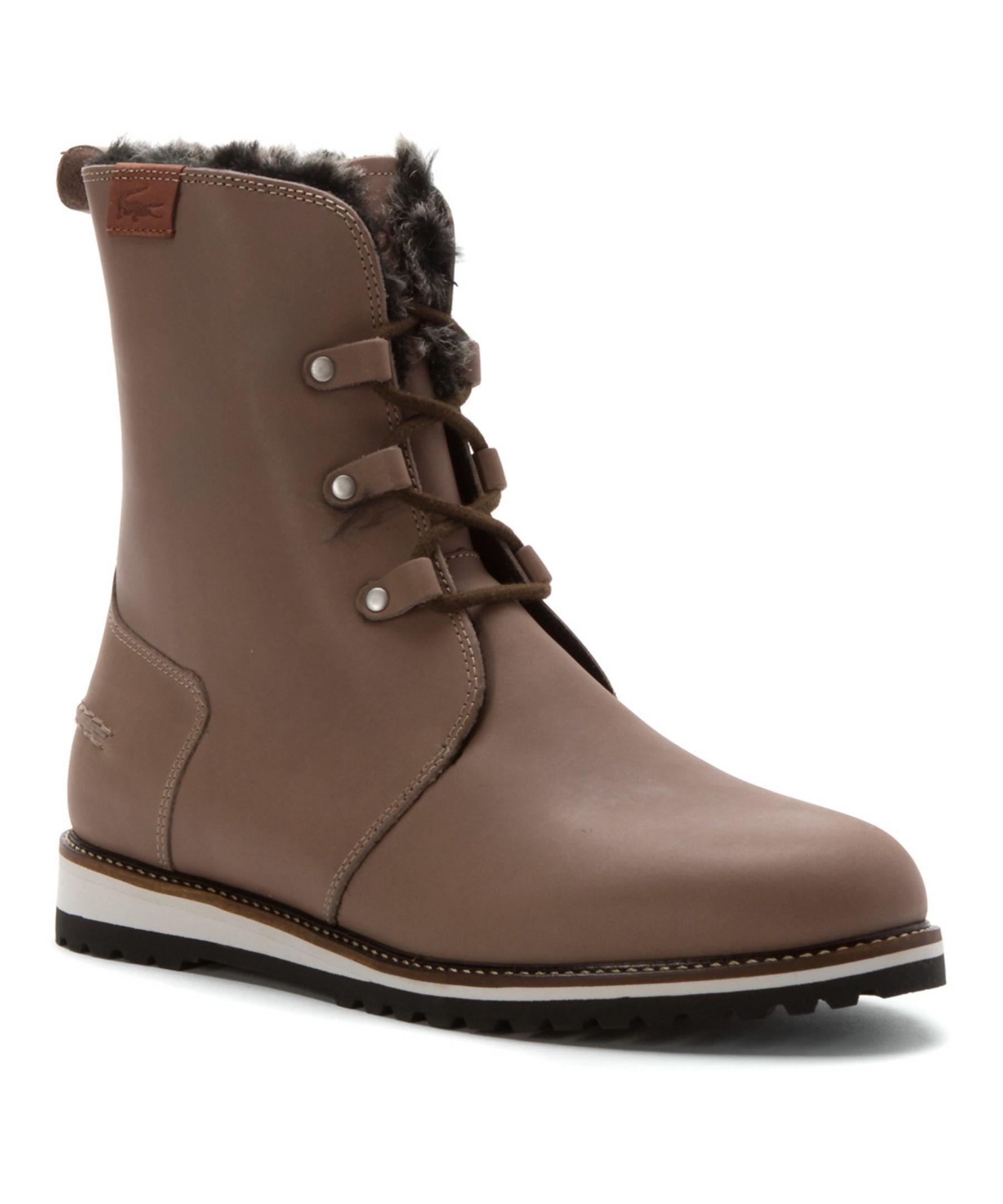 Beautiful Classic Lacoste Baylen 5 Women Black  Women Boots Lacoste Online