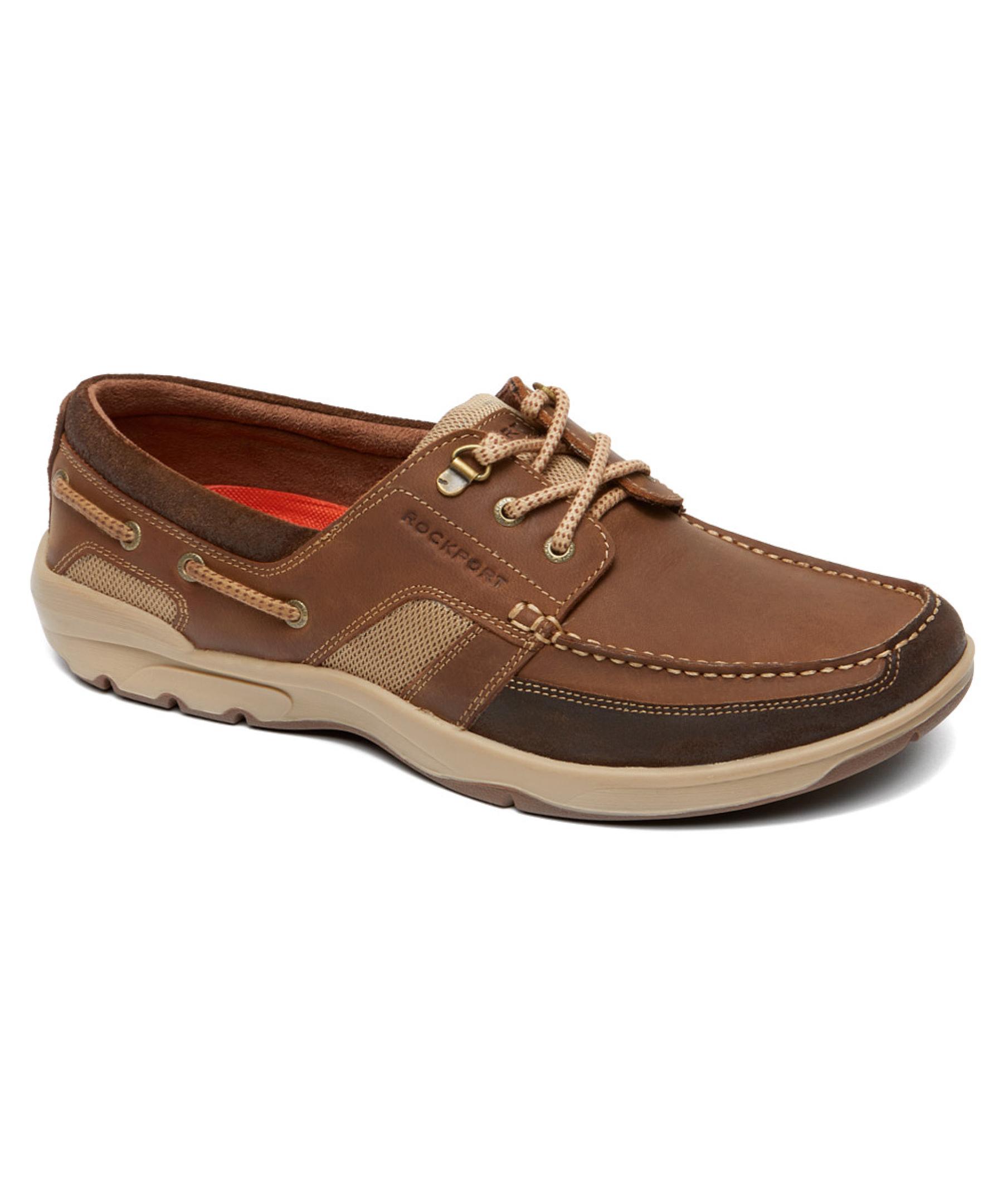 Rockport Mens Lace Up Mesh Shoes