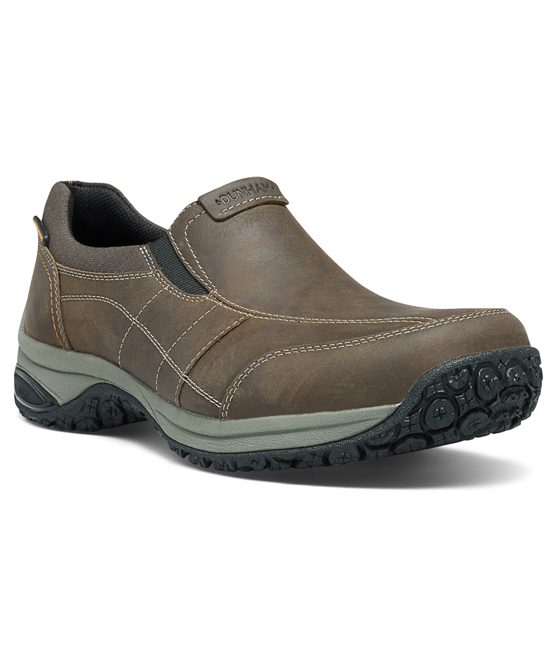 dunham s litchfield work shoes in brown for lyst