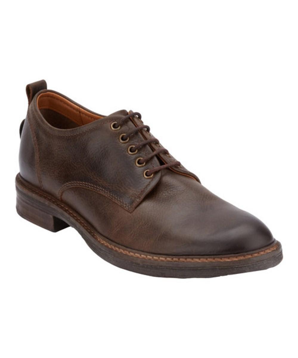 Lucky Brand Hogan Oxford(Men's) -Dark Brown Leather Cheap 100% Guaranteed NAgK8