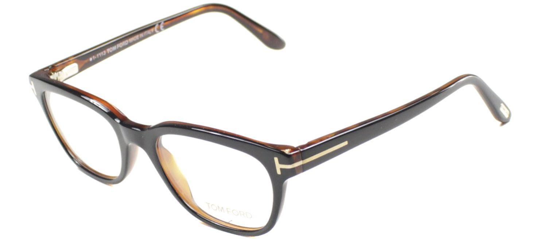 879e0243ee97 Lyst - Tom Ford Ft 5207 005 Black Square Eyeglasses in Black