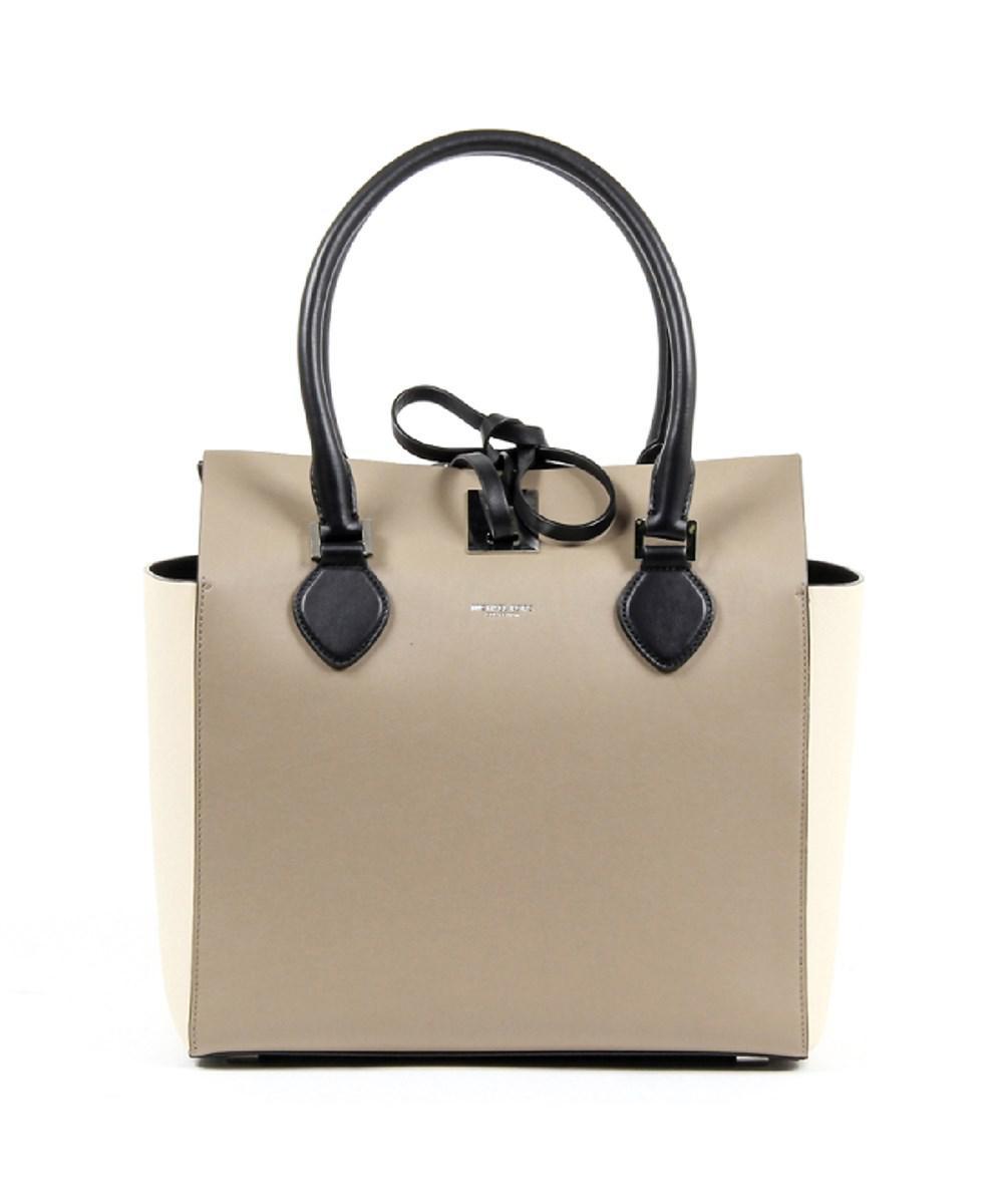 2df00fb2805e Michael Kors. Women s Natural Ladies Miranda Medium Leather Tote Handbag