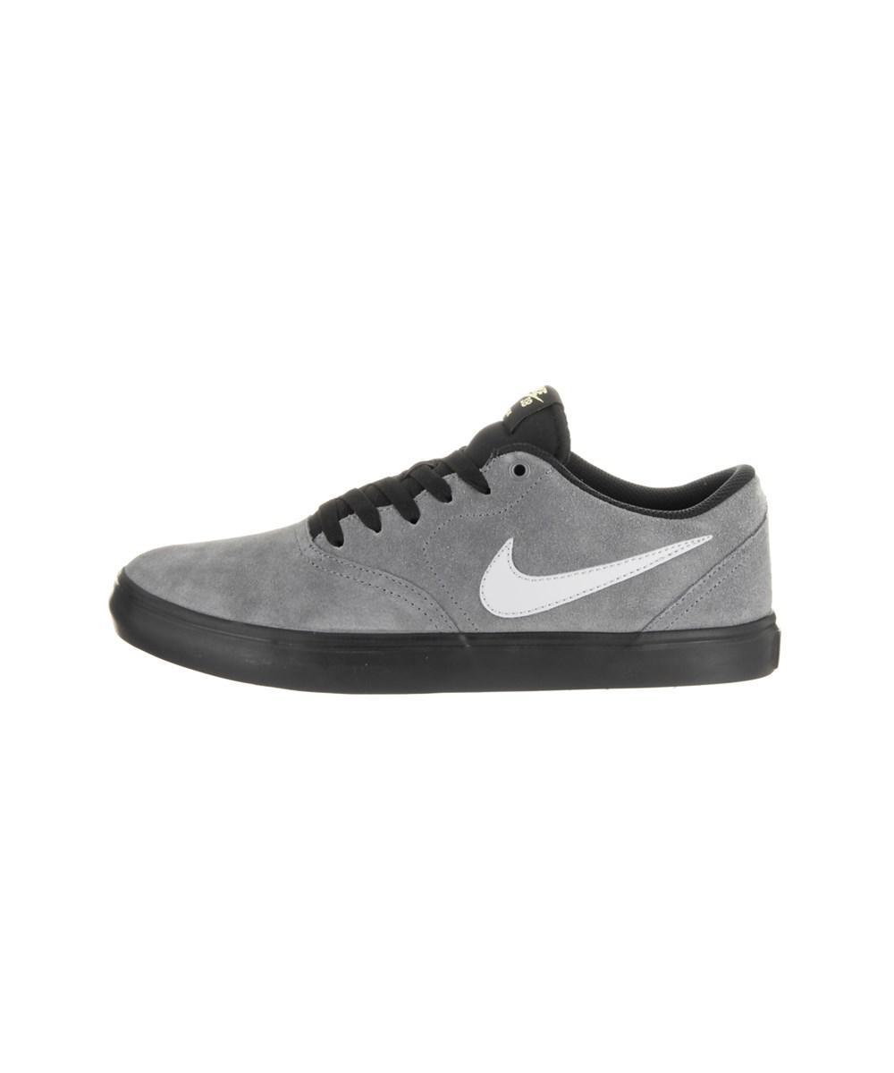 62c48d0ee588 Lyst - Nike Unisex Sb Check Solar Skate Shoe in Gray for Men