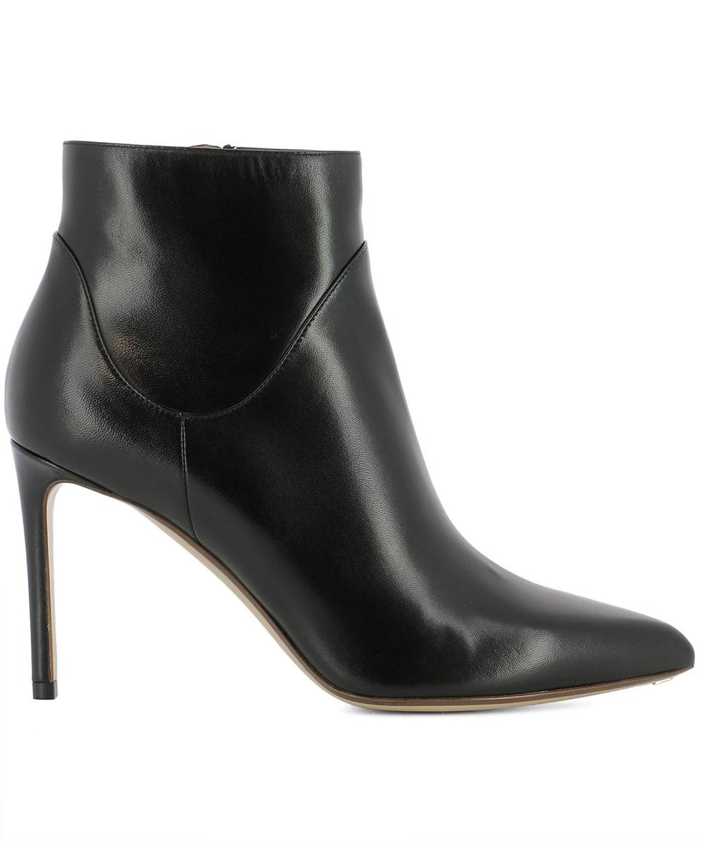 Francesco Russo Patent leather ankle boots 5R1XnEX