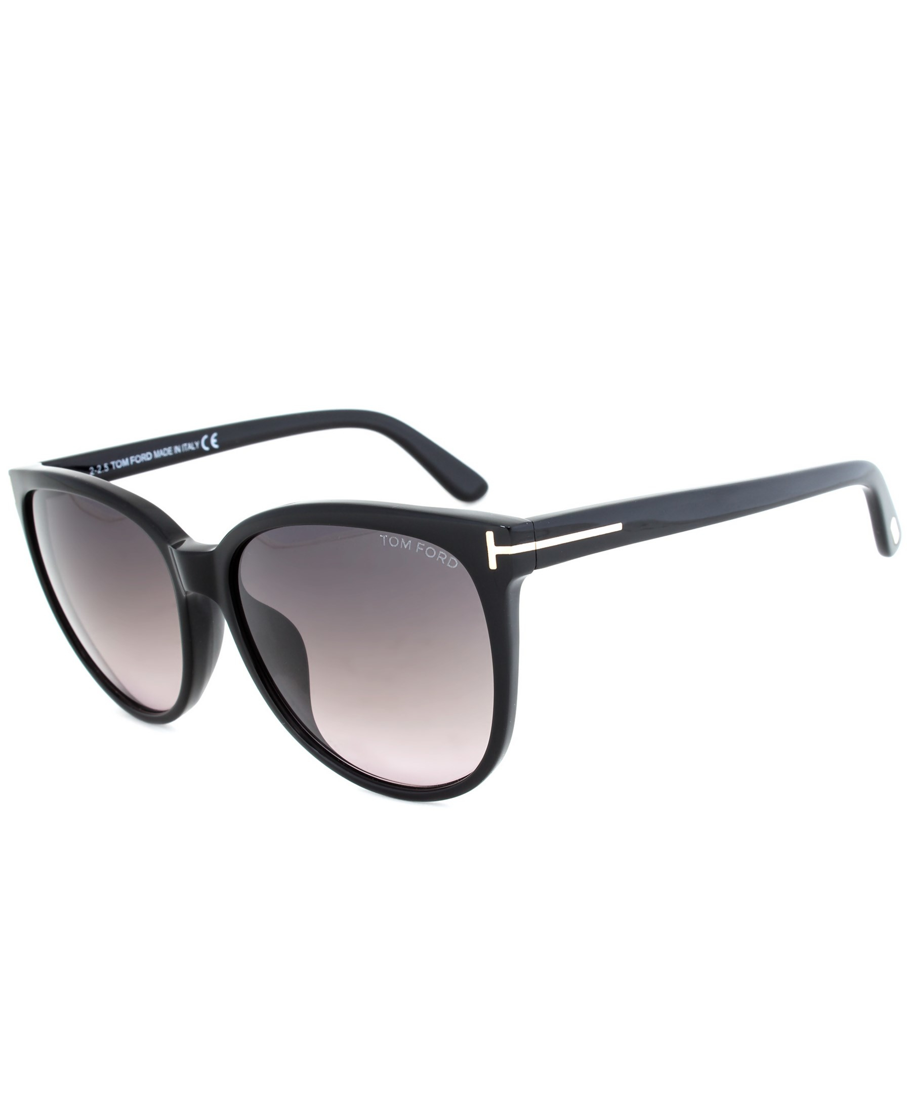 6674a579db4 Lyst - Tom Ford Asian Fit Oversized Women s Butterfly Sunglasses ...