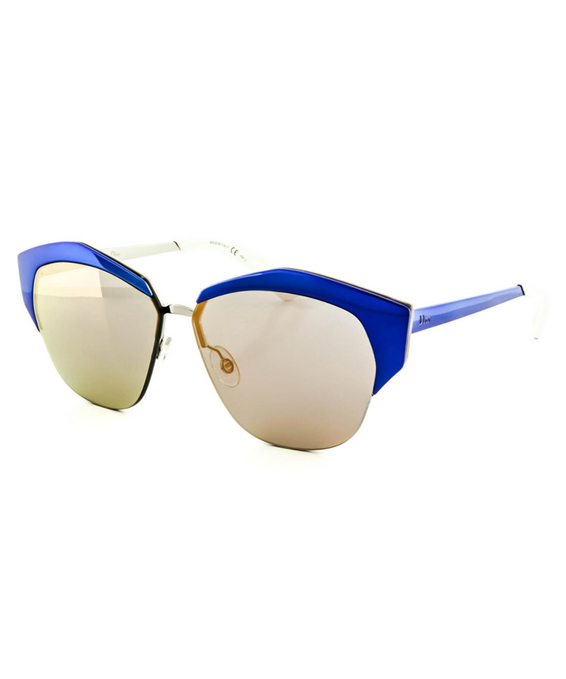 d792404add Gallery. Previously sold at  Bluefly · Women s Mirrored Sunglasses