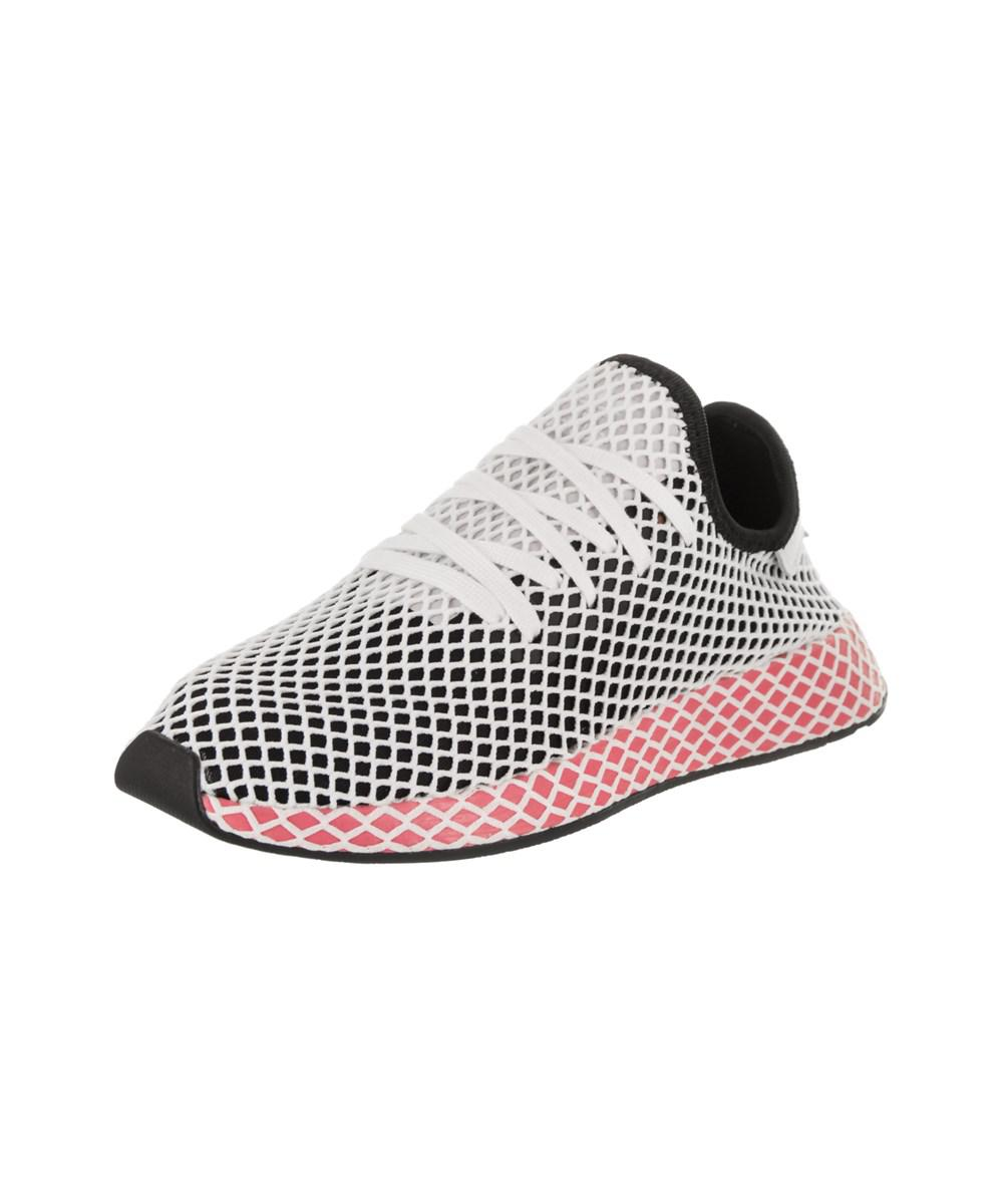 aca11a541673b Lyst - Adidas Women s Deerupt Runner Originals Running Shoe in Black