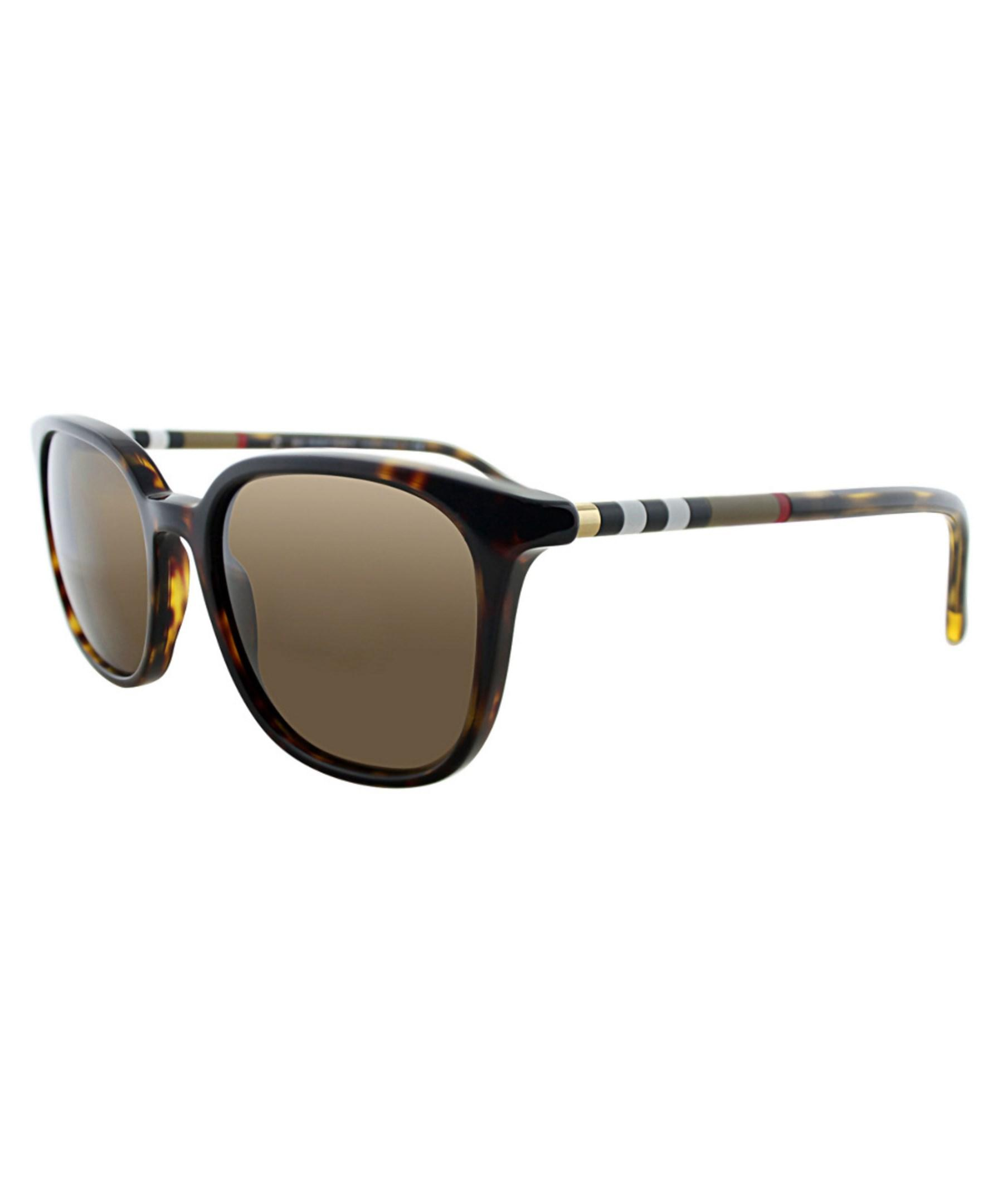 b239fe8afeb Lyst - Burberry Women s Be4144 Sunglasses in Brown