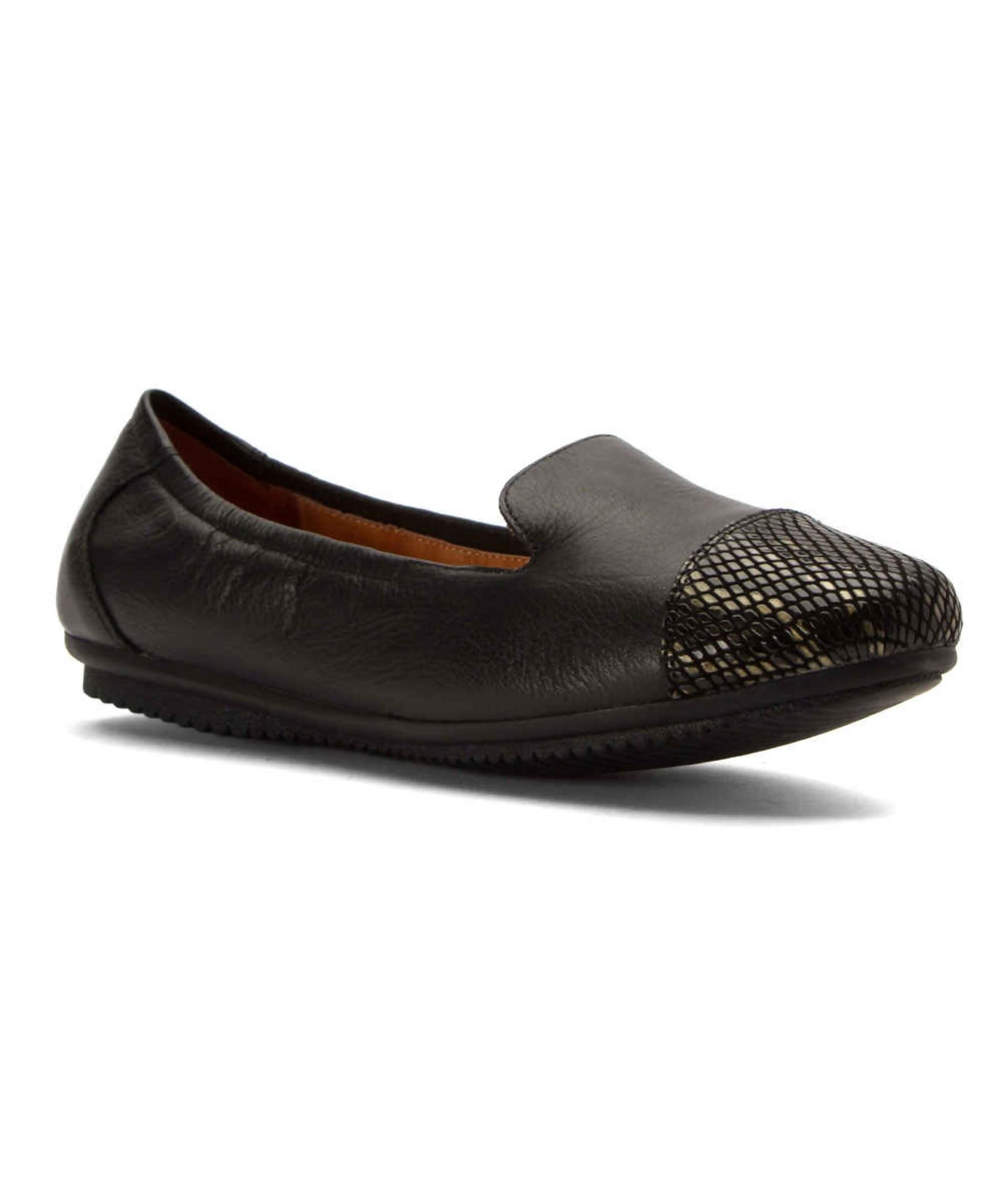 josef seibel women 39 s pippa 23 flats shoes in black lyst. Black Bedroom Furniture Sets. Home Design Ideas