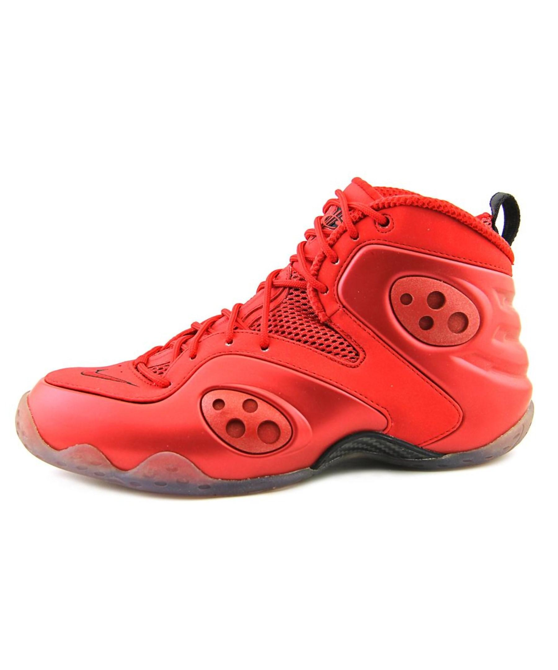 Nike Zoom Rookie Round Toe Synthetic Basketball Shoe In