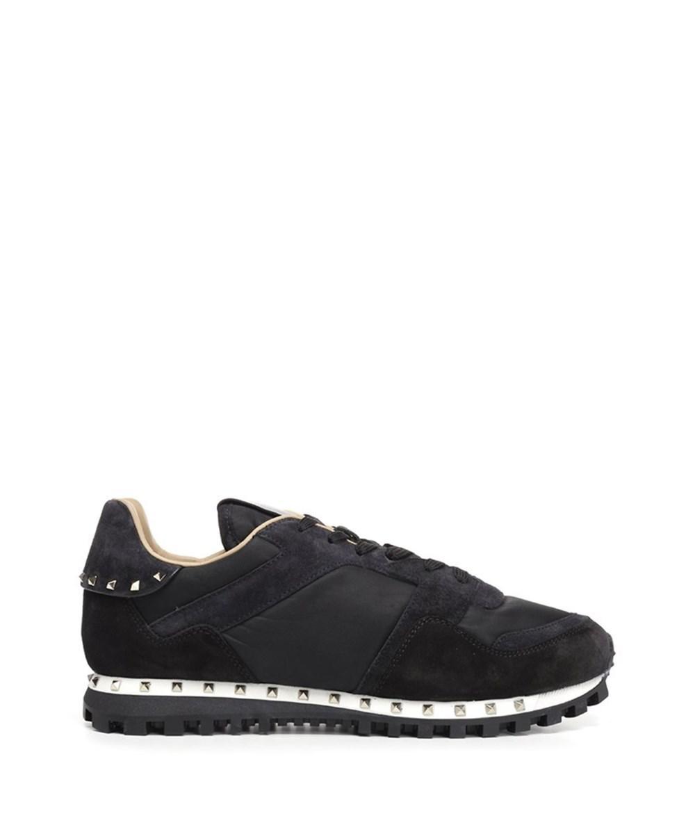 68b44488fe35 Lyst - Valentino Garavani Men s Qy2s0952nyn0ge Black Leather ...