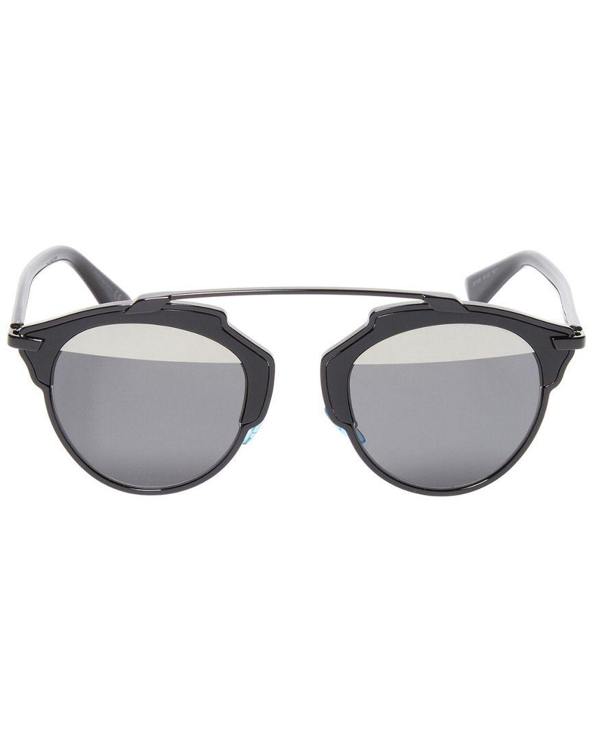 810916fcccd9 Lyst - Dior So Real Round Tinted Frame in Black