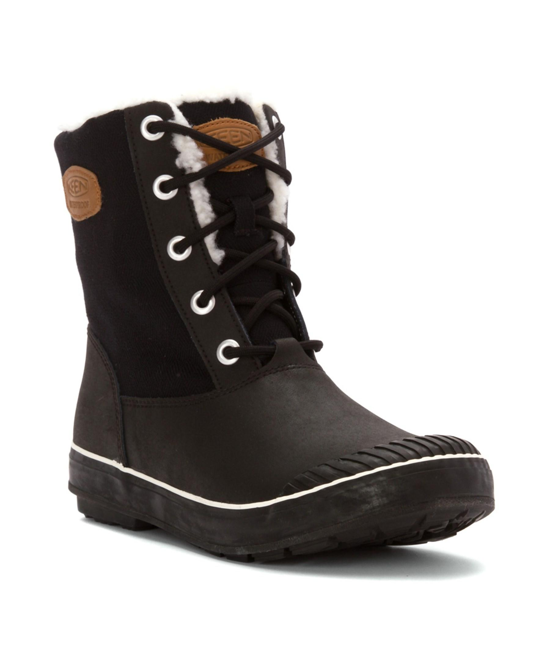 keen s elsa boot wp boots in black lyst