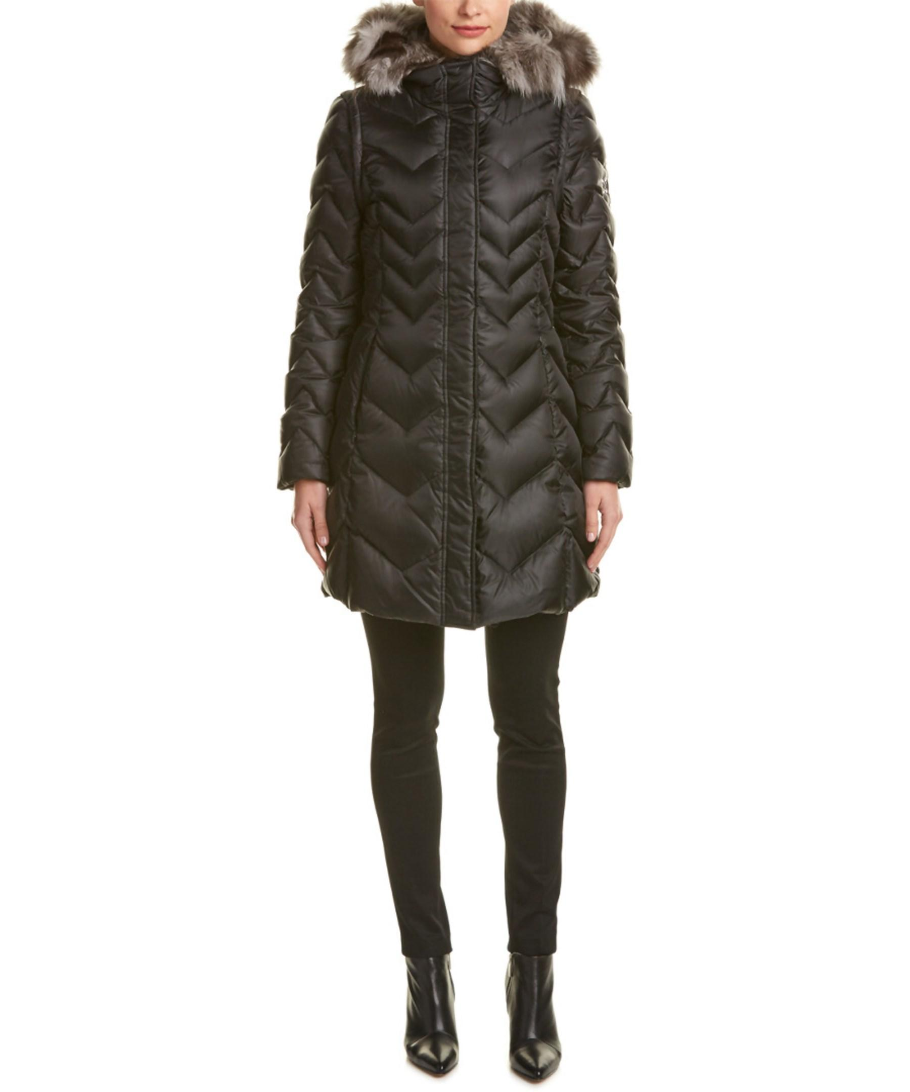 Dawn Levy Naomi Coat In Black Lyst