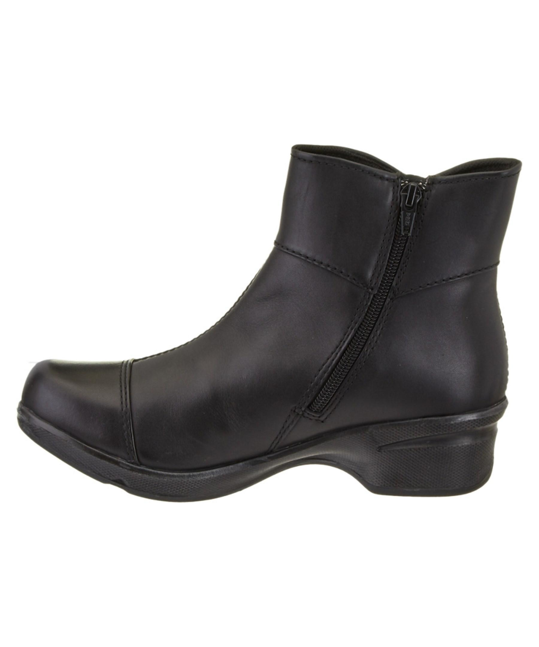 keen s mora mid button leather boot in black lyst