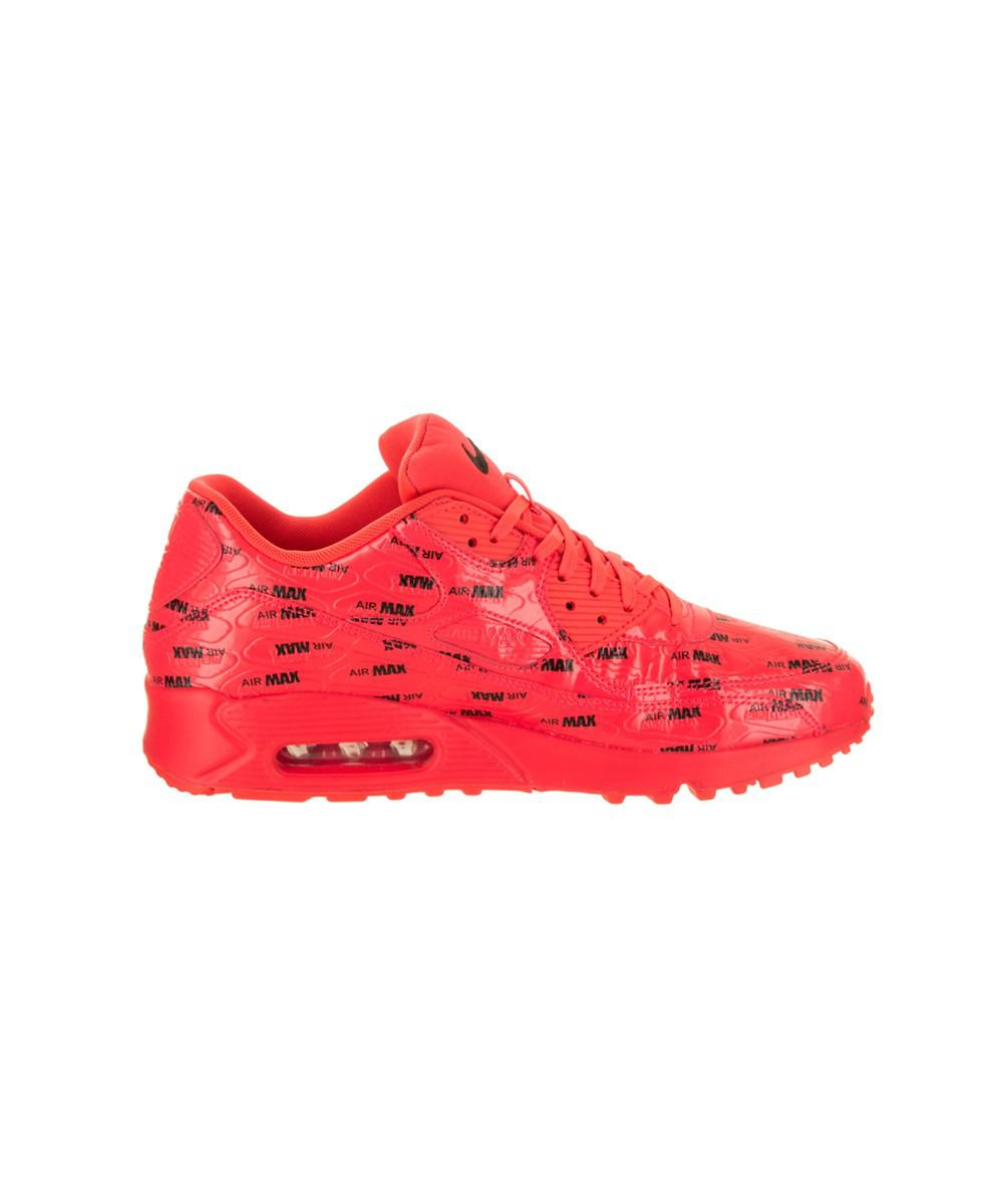 new product 06d4a a03fb Lyst - Nike Men s Air Max 90 Premium Running Shoe in Red for Men