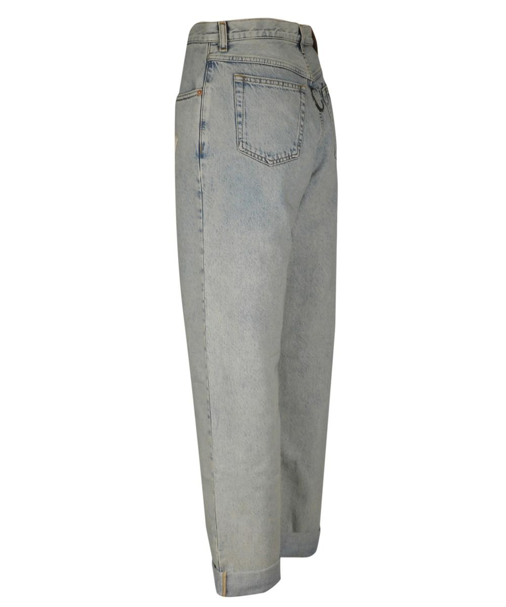Lyst - Gucci Women s 502802xrc744048 Blue Cotton Jeans in Blue 9dc15c7bdf