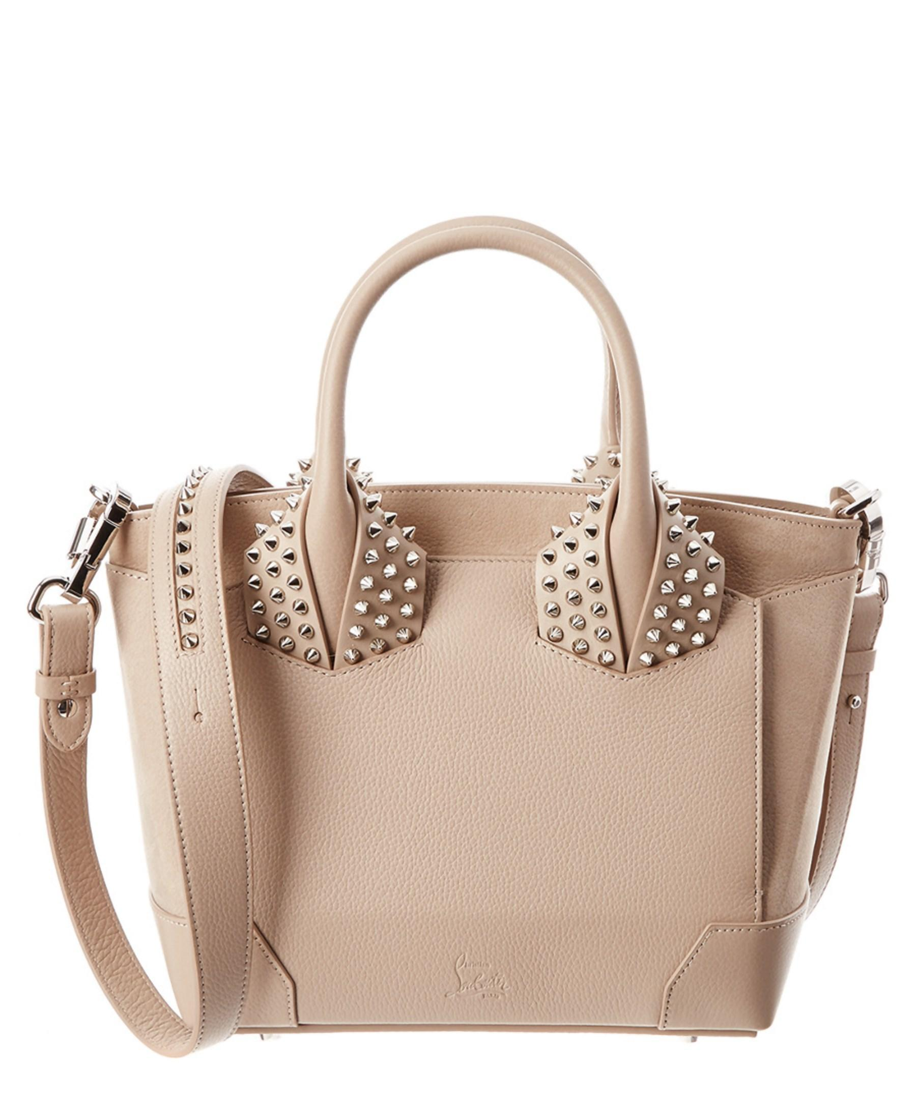 16cc27d36a5 Lyst - Christian Louboutin Eloise Small Leather Two Handle Bag
