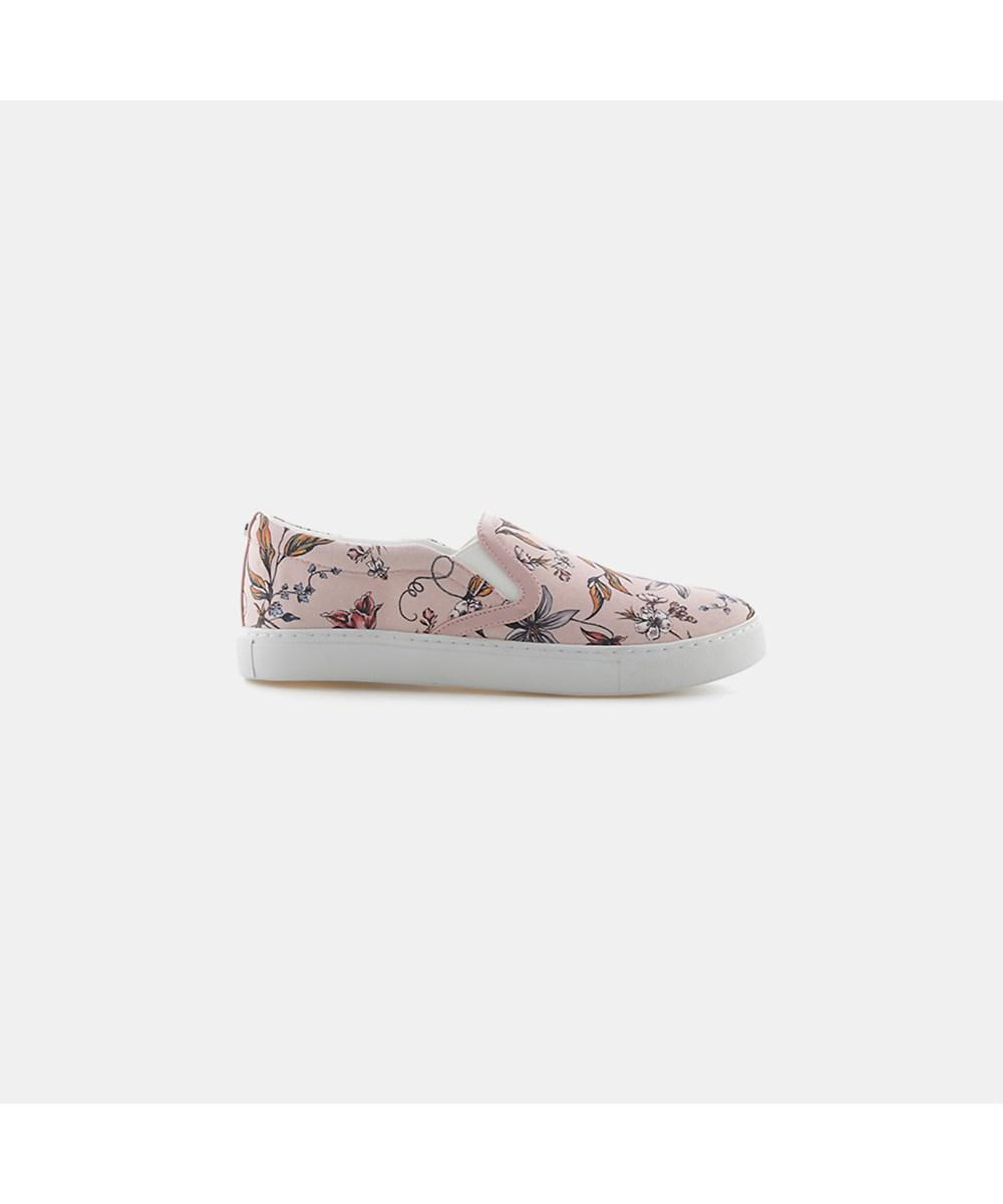 fbdc4217294314 Sam Edelman Pixie Floral Slip-on Sneaker in Pink - Lyst