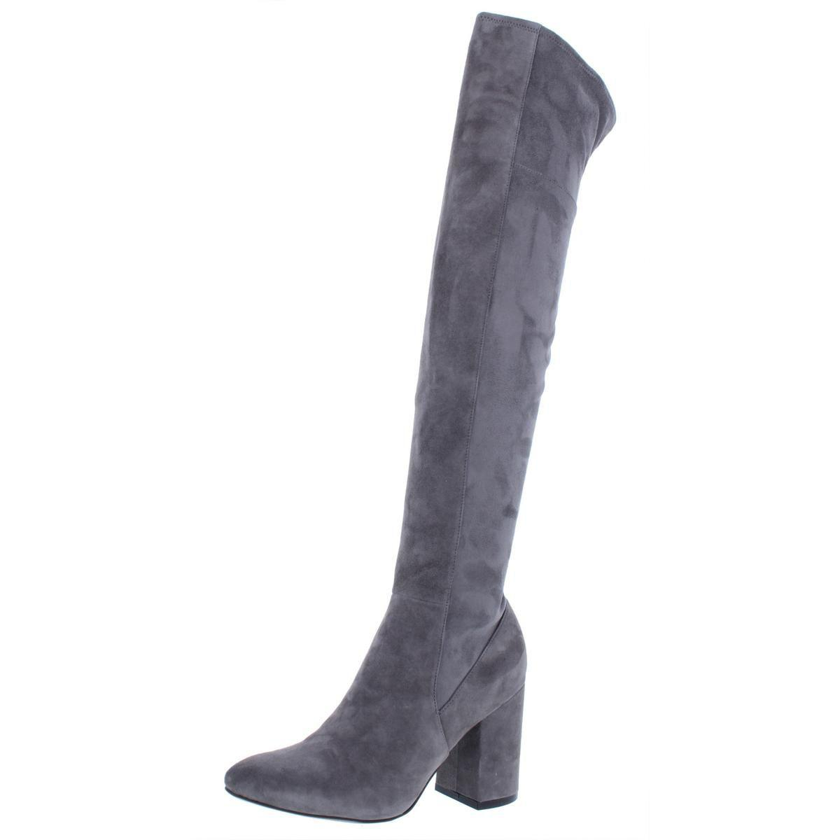 cfa113fe782 Lyst - Cole Haan Womens Darla Suede Fashion Over-the-knee Boots in Gray