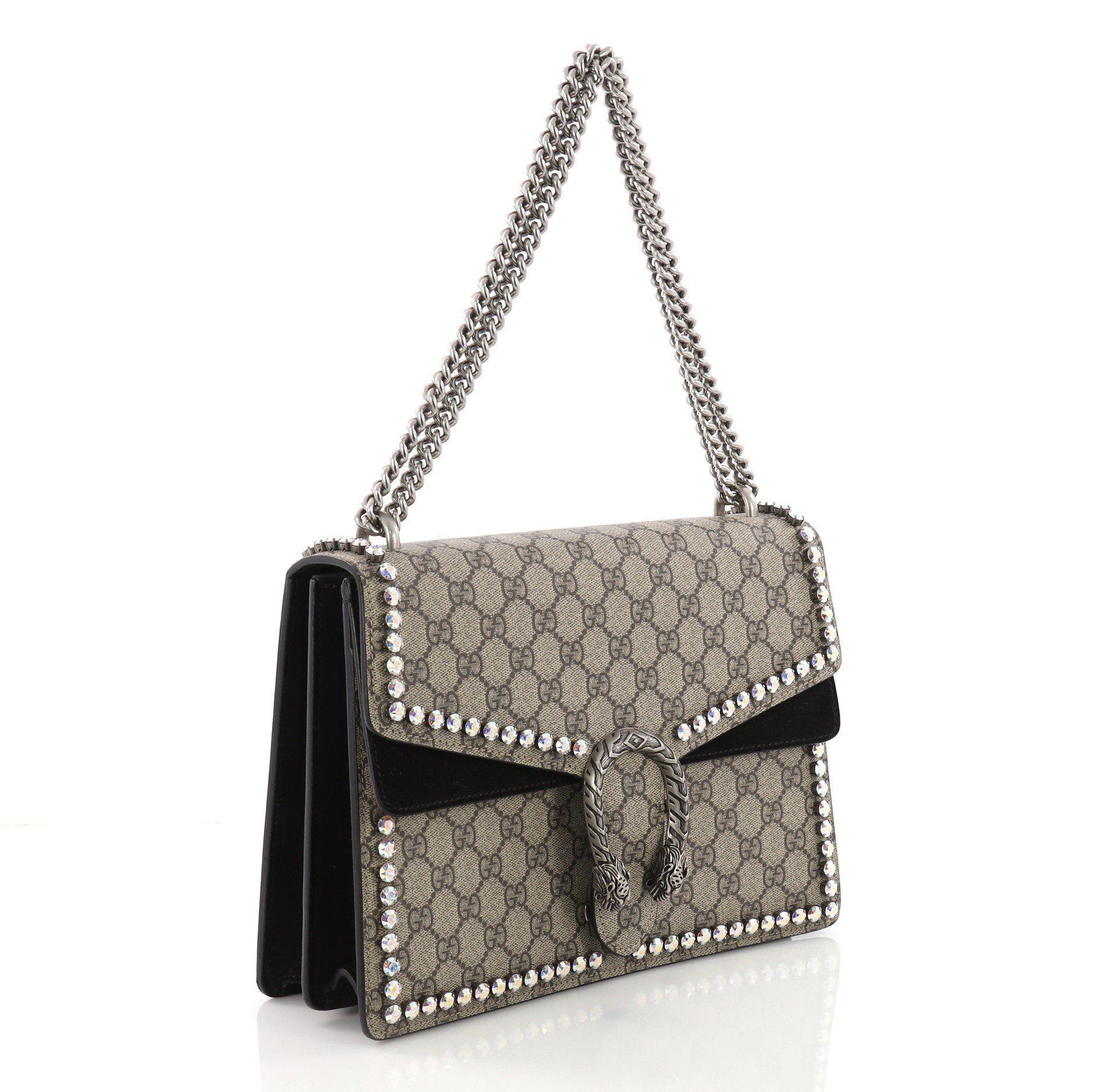03bdc8b5f53 Gucci - Multicolor Pre Owned Dionysus Handbag Crystal Embellished GG Coated  Canvas Medium - Lyst. View fullscreen