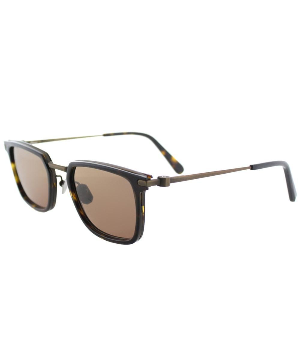 a3fbe649f6628 Brioni. Women s Br0010s 003 Havana Casual Luxury Square Sunglasses