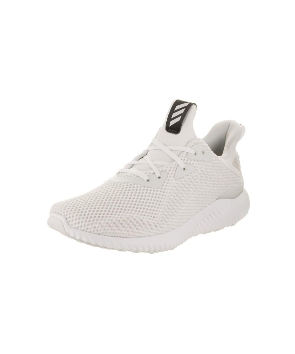 4ba328f5e Lyst - Adidas Women s Alphabounce 1 Running Shoe in White