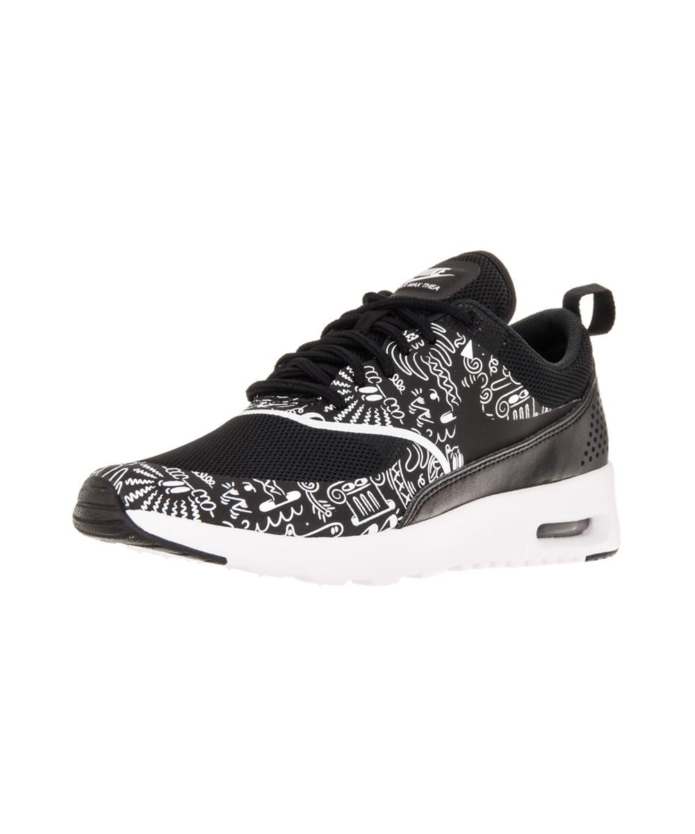60c237408177 Lyst - Nike Women s Air Max Thea Print Running Shoe in Black