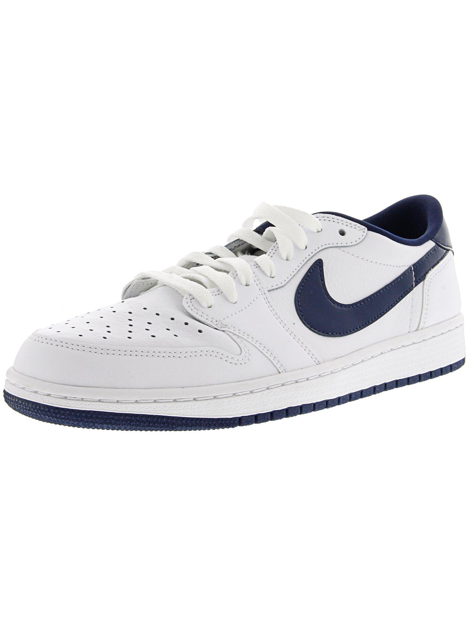 65c913af18b Nike. White Men s Air Jordan 1 Retro Low Og Ankle-high Fashion Sneaker