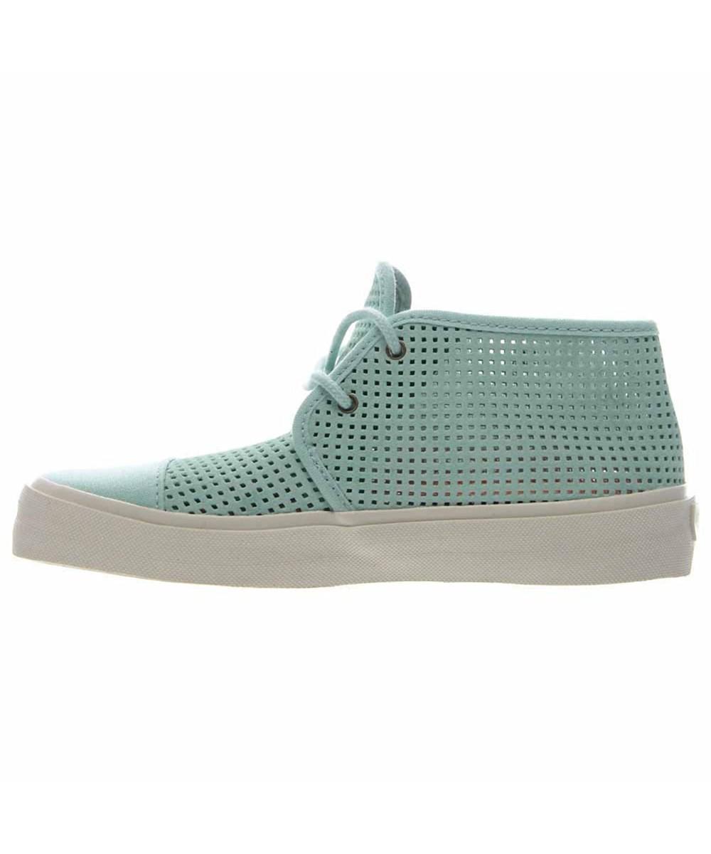 fef095b7f3b Lyst - Vans Womens Rhea Sf Low Top Lace Up Fashion Sneaker in Green