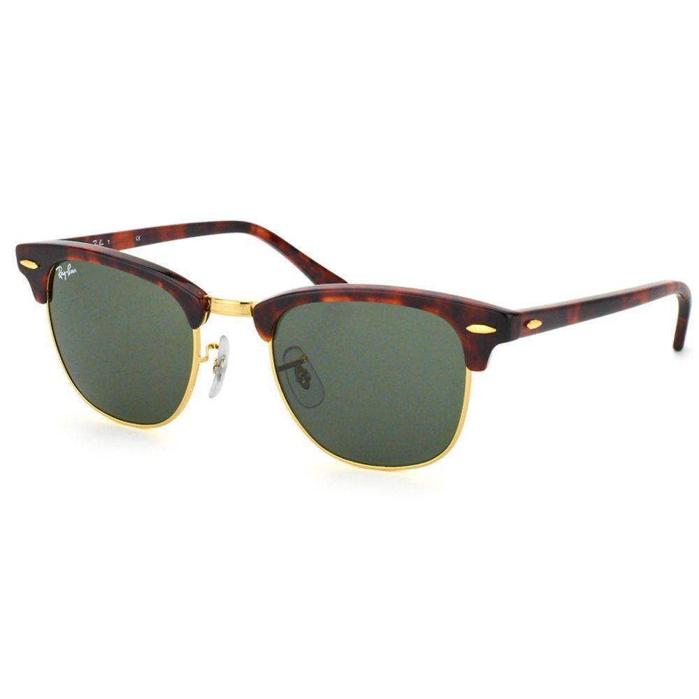 87f4b4fabfb4 Ray-Ban. Women s Clubmaster Rb 3016 W0366 49mm Tortoise Designer Sunglasses