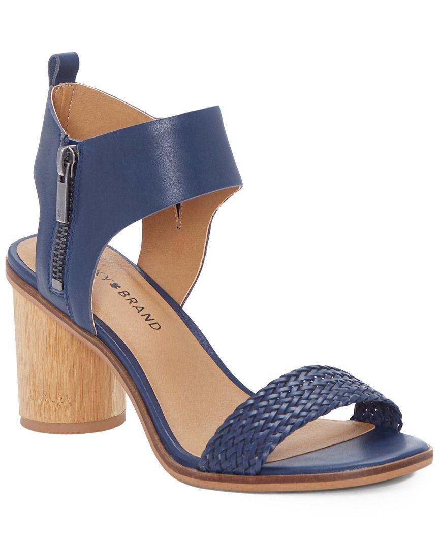 834faef5f6dfd Lyst - Lucky Brand Pomee Heeled Sandal in Blue
