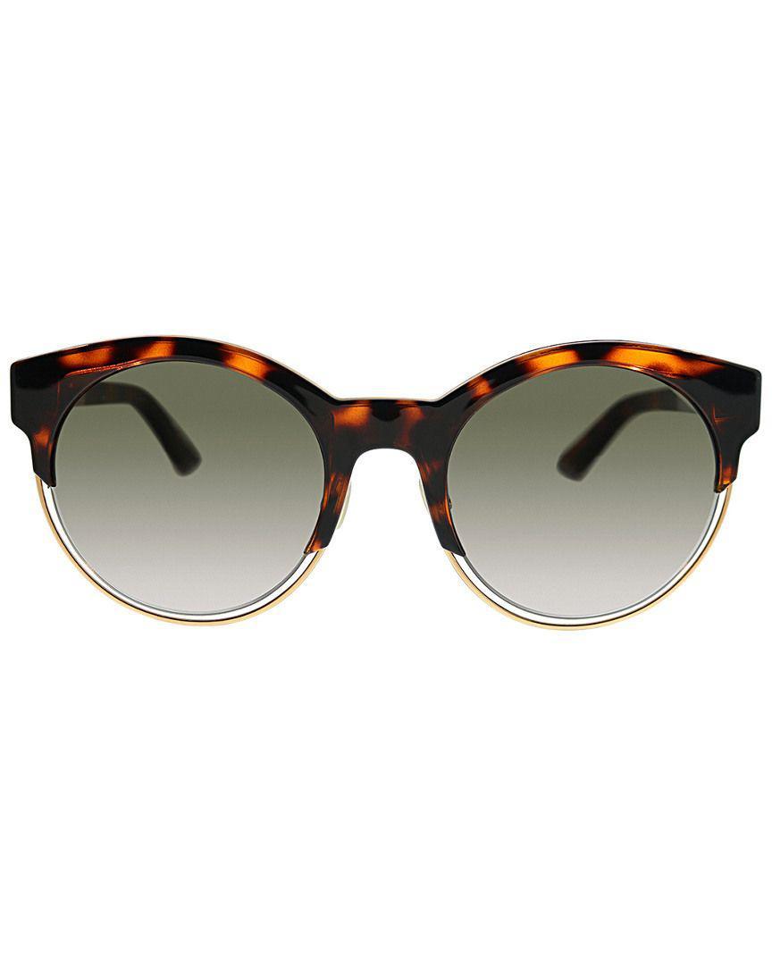 1b739c90c0957 Lyst - Dior Sideral 1s 0j6f Ha 53mm Sunglasses in Brown