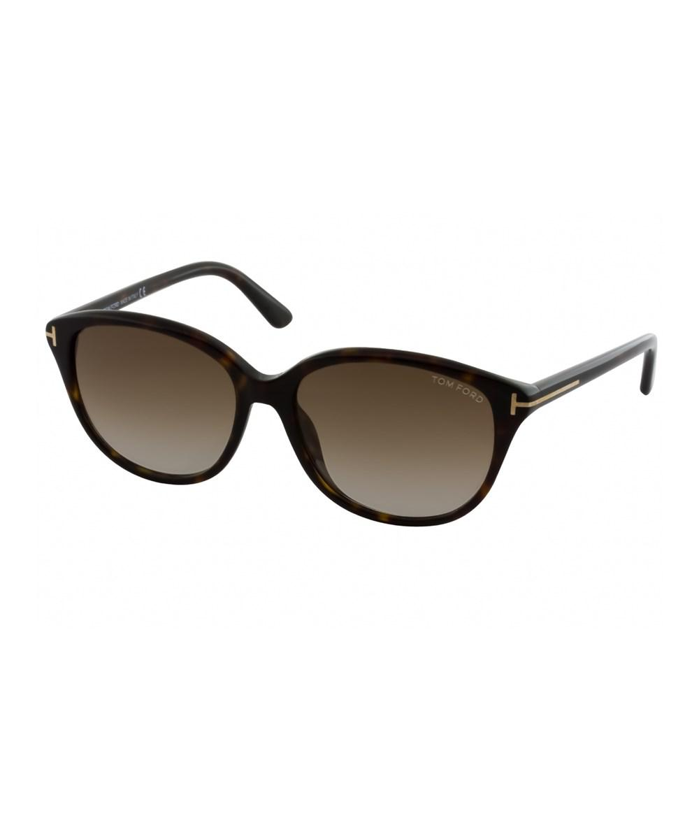85aa884afef78 Tom Ford - Brown Women s Karmen Sunglasses - Lyst. View fullscreen