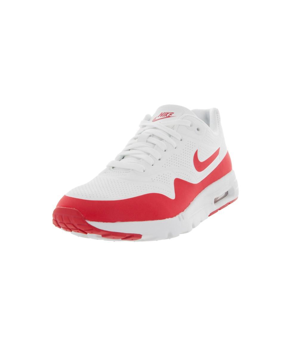 size 40 77d1c f7cd5 Nike - White Women s Air Max 1 Ultra Moire Running Shoe - Lyst. View  fullscreen