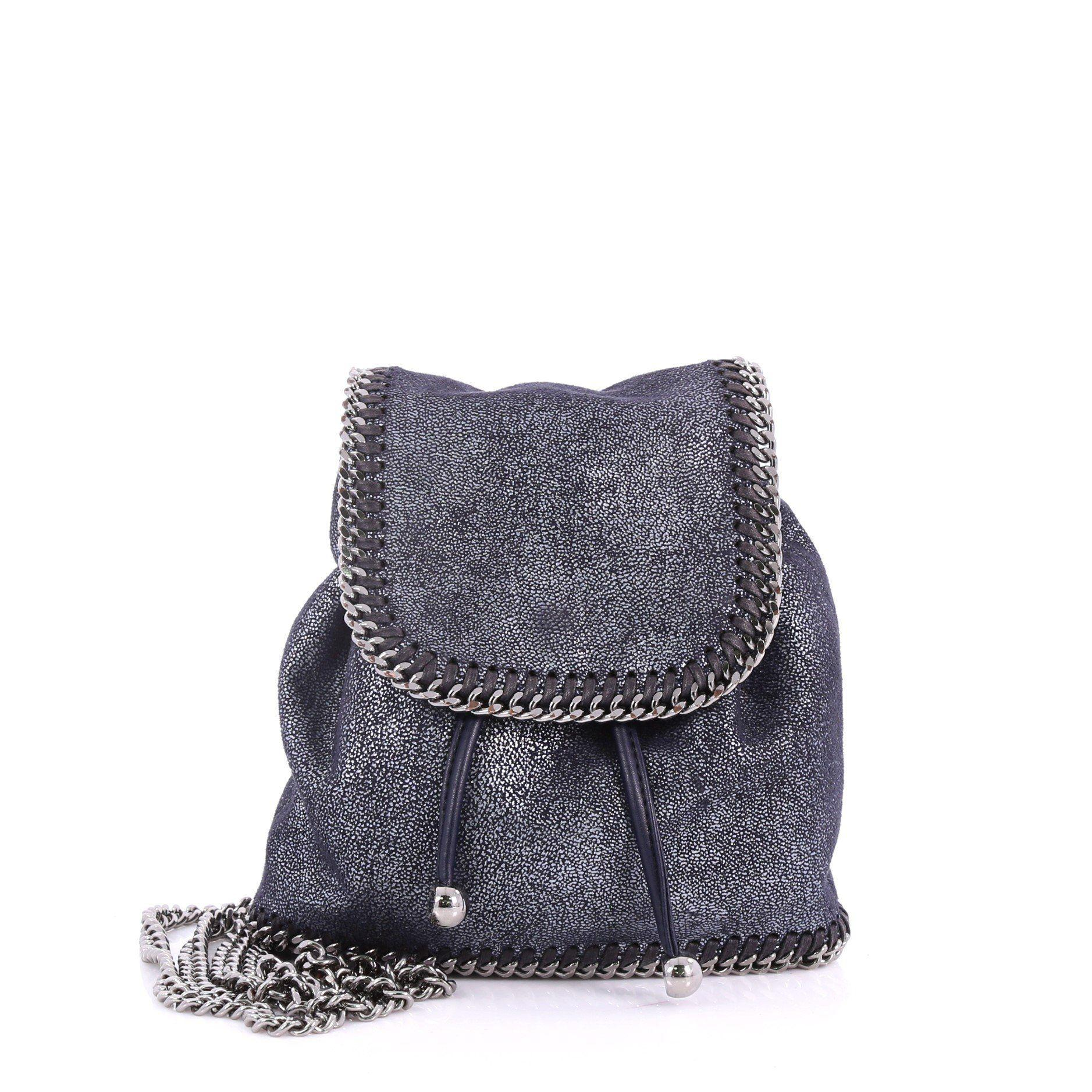 792436164d99 Stella McCartney. Women s Pre Owned Falabella Backpack Shaggy Deer Mini