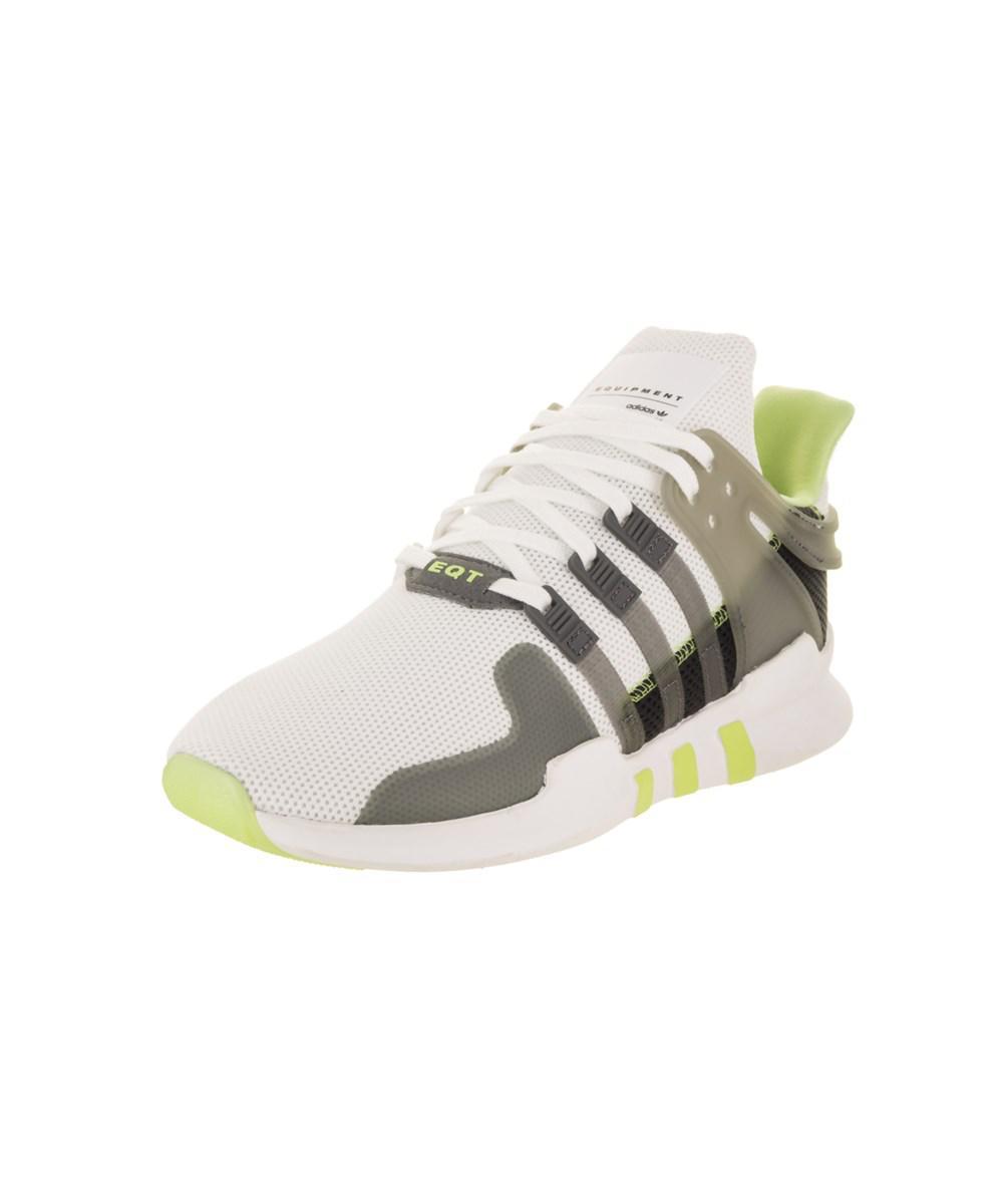 Lyst Adidas Donne Eqt Appoggio Bianco. Avanzata Originali Scarpa In Bianco. Appoggio 68732a