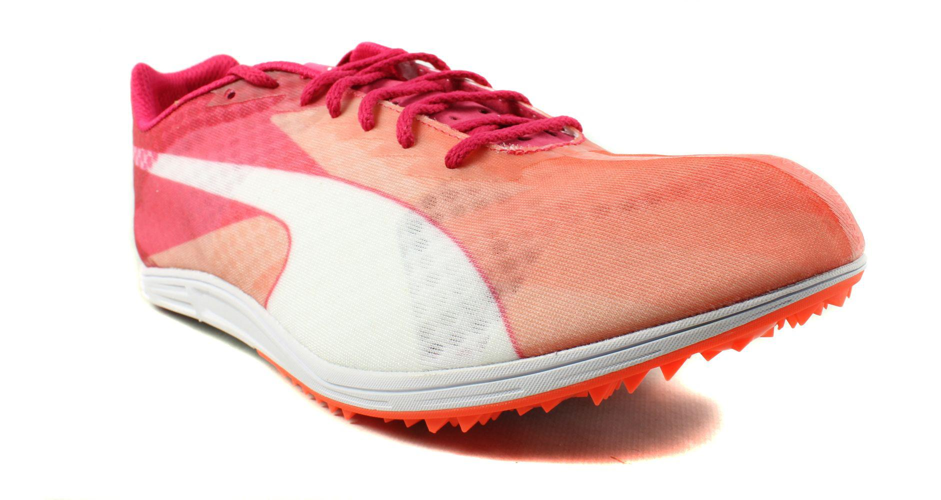 68e40e45306 Lyst - Puma Womens Evo Speed Distance V6 Orange Running Shoes